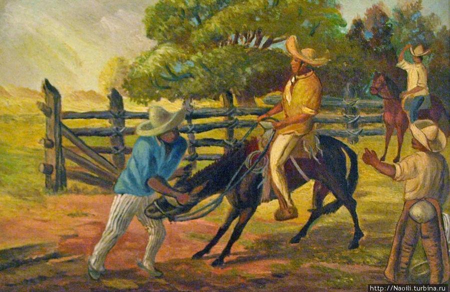 1903 На следующий день главный конюх обязал меня объездить дикого мула