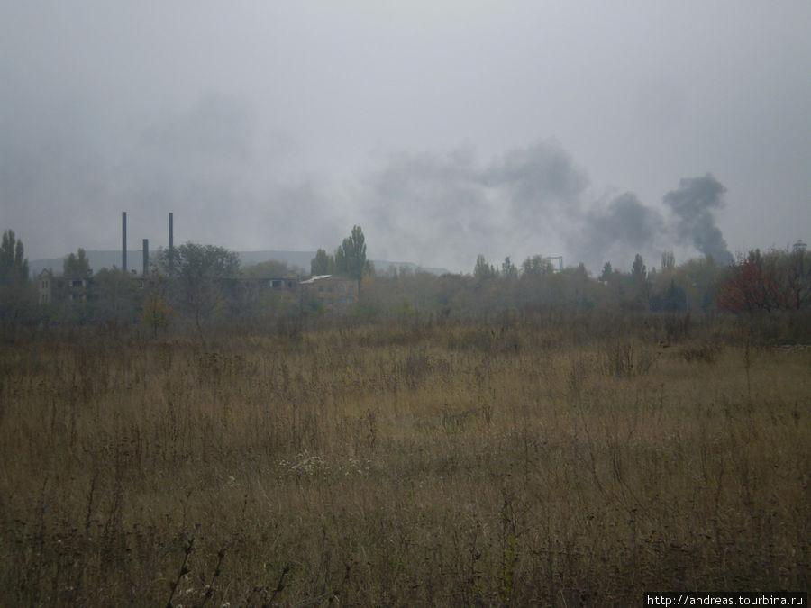 Вид на Украинск