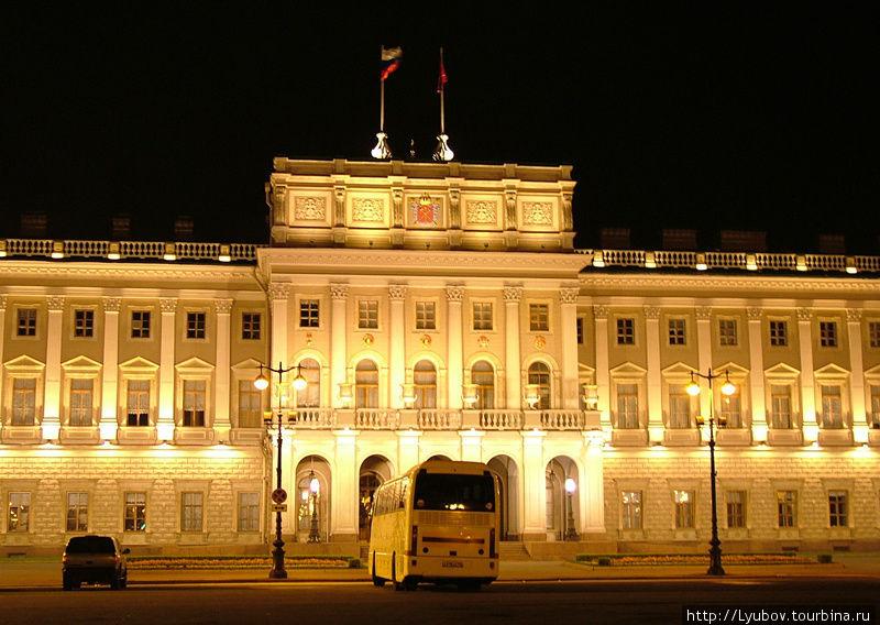 Мариинский дворец. Постр