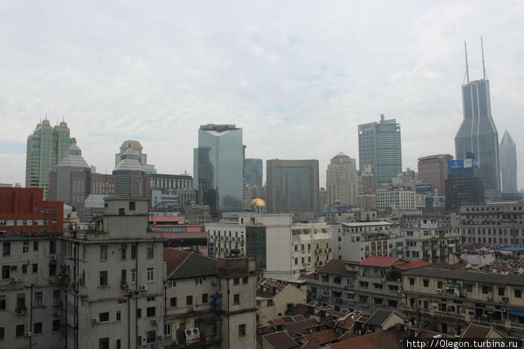 Вид с террасы хостела