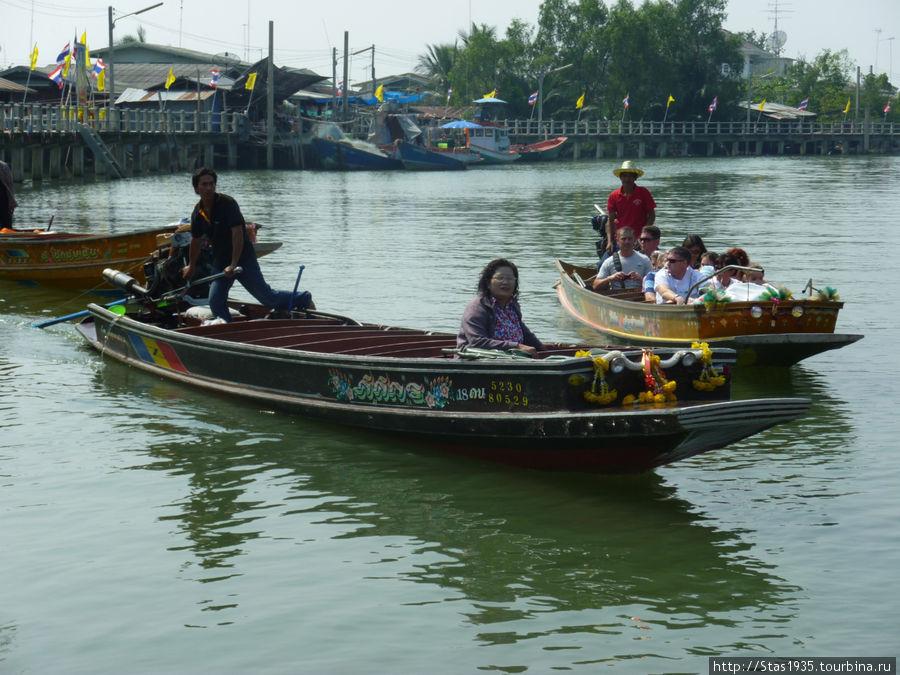Каналы провинции Ратчабури.
