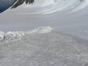 след от лавины