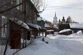 Колокольня и церковь Иоанна Предтечи