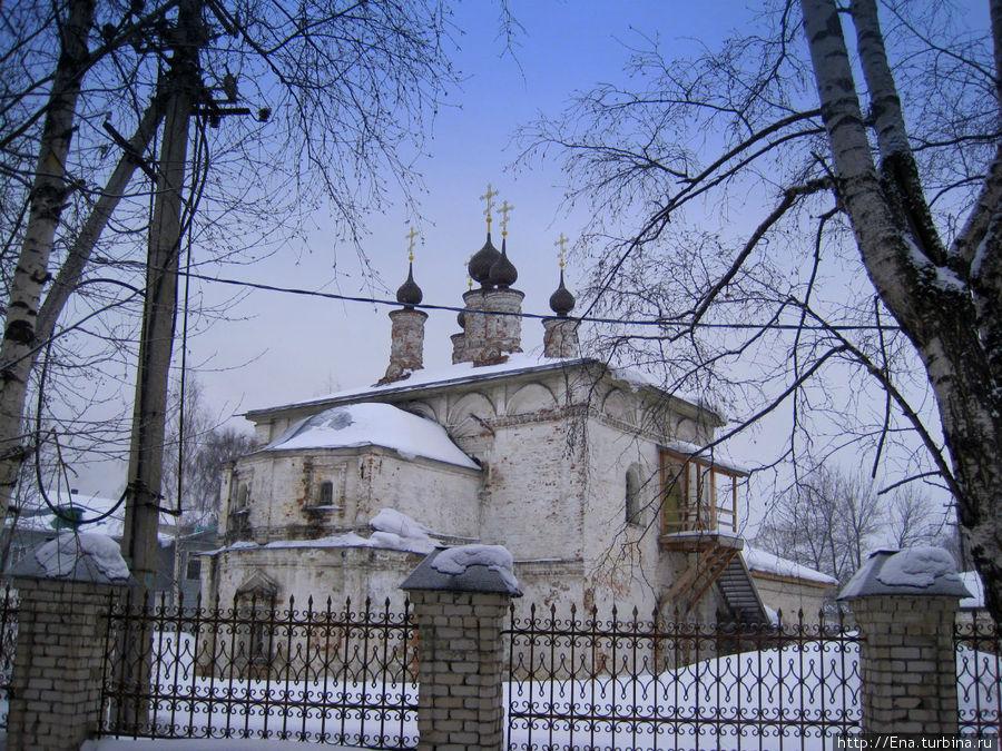 Церковь Богоявления — старейшая в Галиче