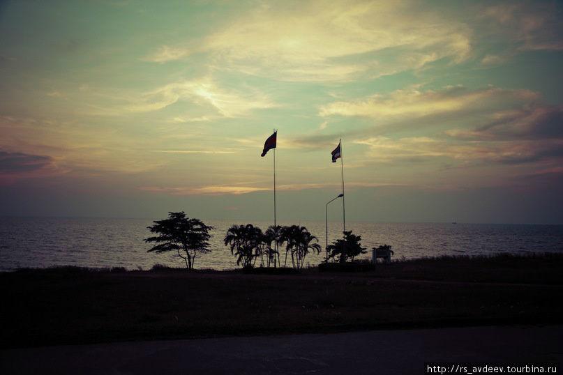 Граница Камбоджи и Тайланда (Ко Конг)