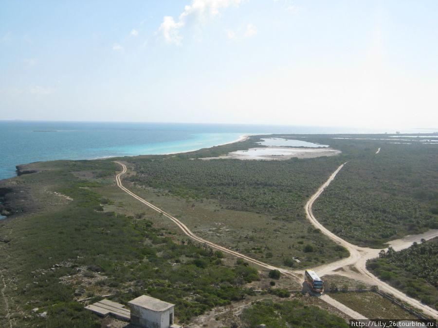 Остров Кайо-Романо (вид с маяка)
