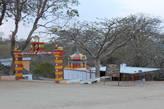 Индуистский храм в заповеднике
