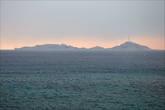 А вот и море. Вид с набережной на архипелаг Фриуль