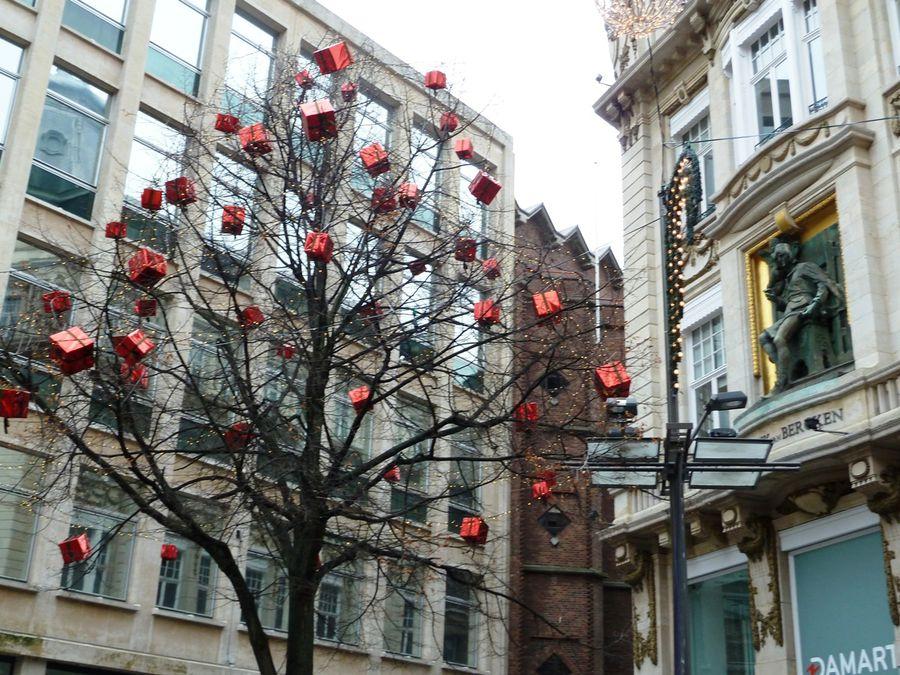 Дерево Рождества Антверпен
