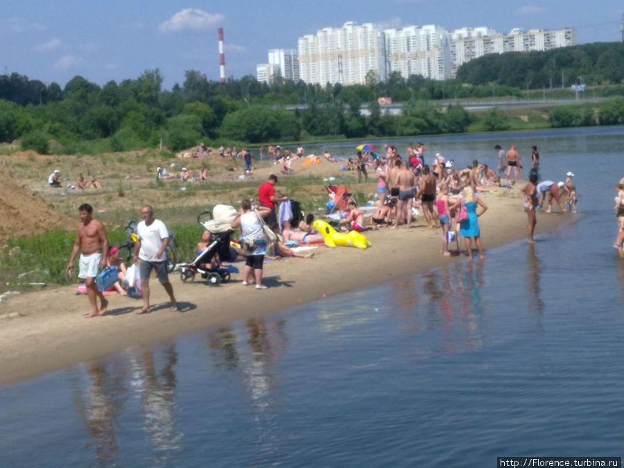 Пляж в Красногорске