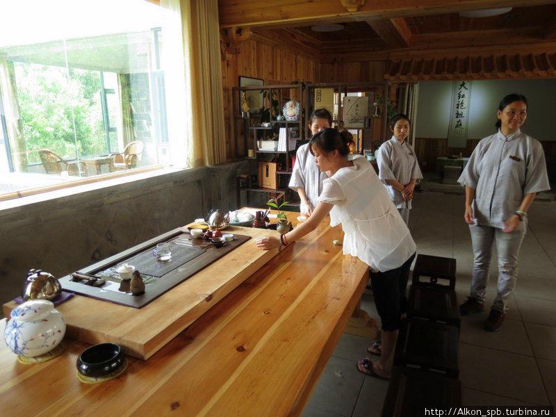Монастырь, в котором делают самый дорогой чай в мире Провинция Фуцзянь, Китай