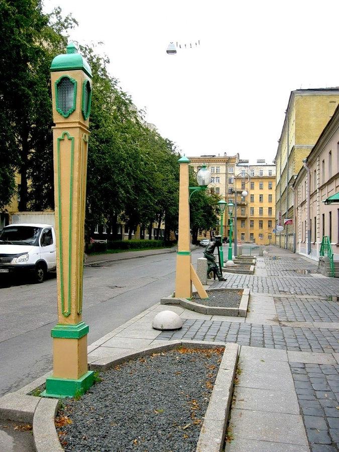 С-Пб, Одесская улица. Вид