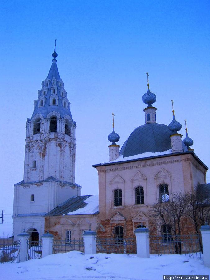 Церковь Василия Великого — именно эта красавица на всех плакатах и открытках в Галиче