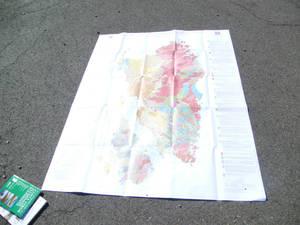 Карта полезных ископаемых сардинии