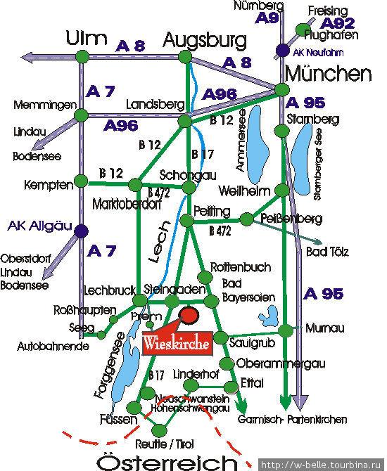 Как добраться из Мюнхена.
