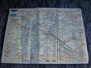 Парижское метро.