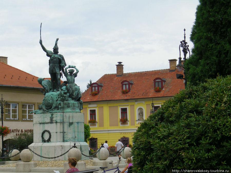 Памятник Иштвану Добо