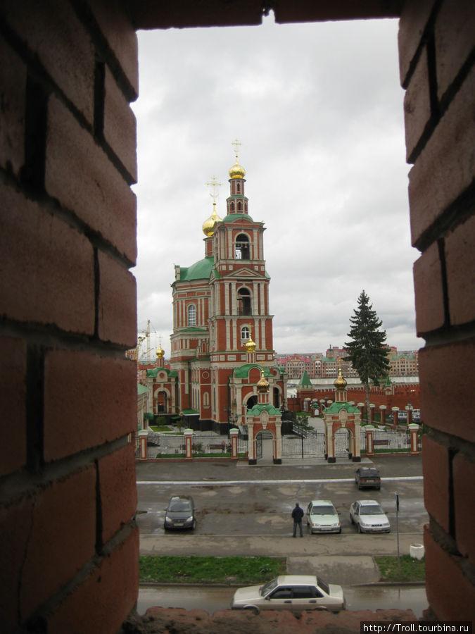 Вид из кремлевской башни