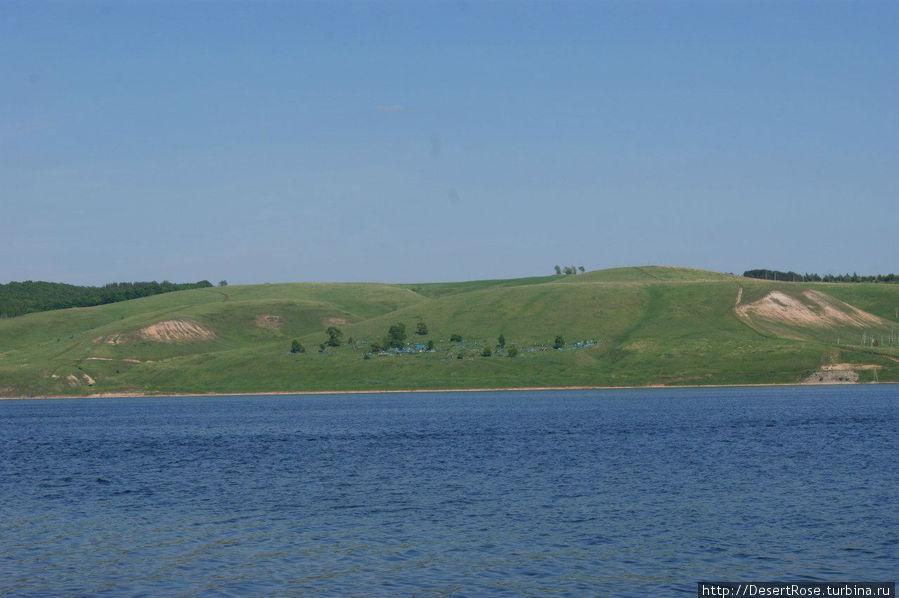 противоположный берег — Камское Устье