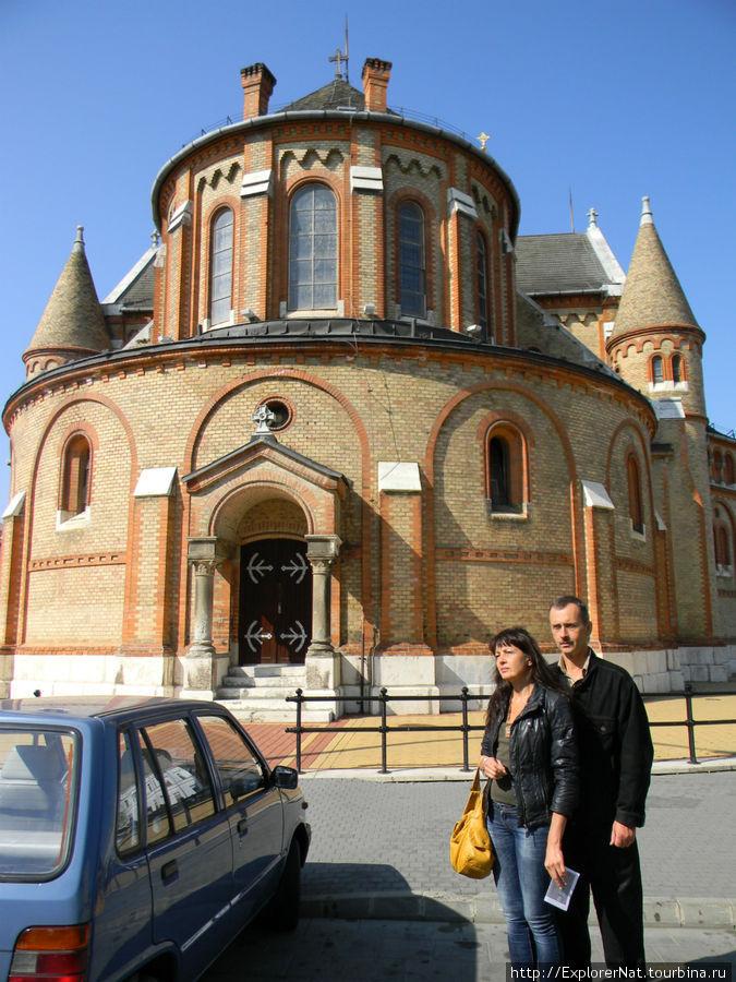 Ниредьхаза -центр города, церковь