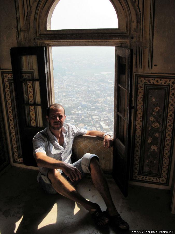 я, в Джайпурском Тигрином форте