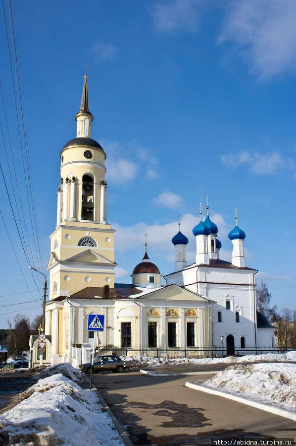 сколько церквей в боровске нового
