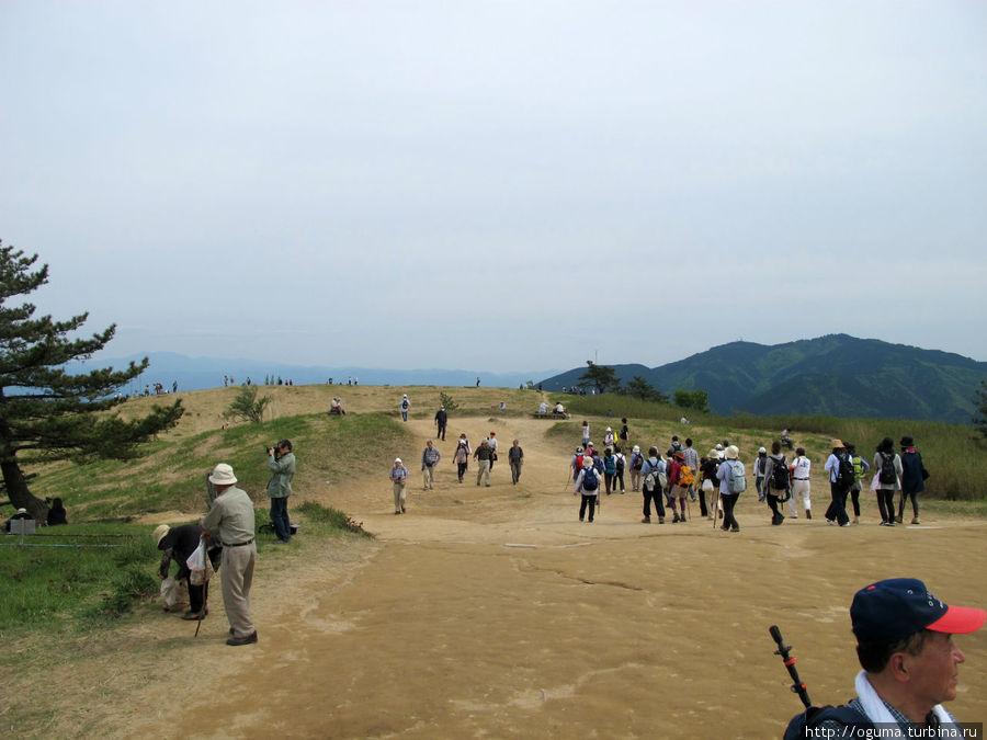 Уже на вершине горы Госэ, Япония