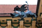 Во дворе Новой ратуши в Брно мне понравился дождевой слив