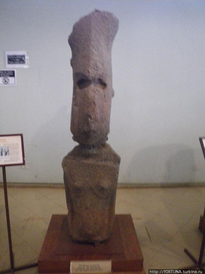Женщина-моаи