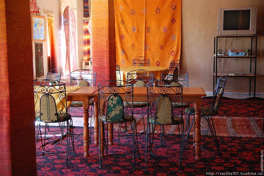 Столовая в отеле