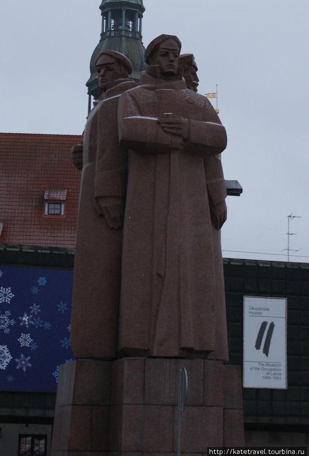 Памятник Латышским Стрелк