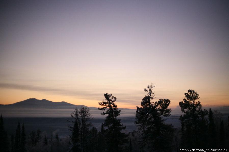 Вид из окна... раннее утро