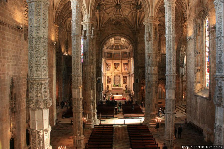 Лиссабон, Белен Церковь Санта Мария де Белен.