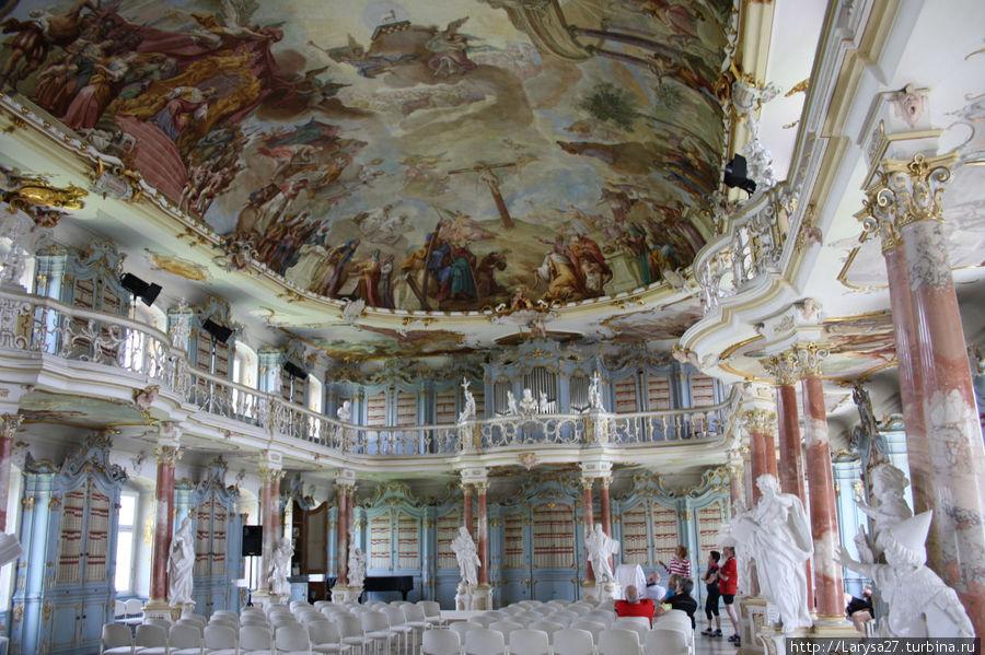 Библиотека монастыря Шуссенрид