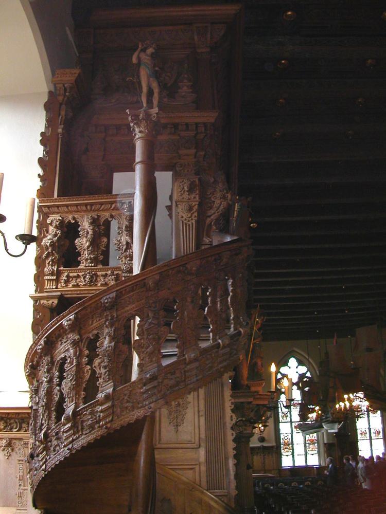 Винтовая лестница в Золот