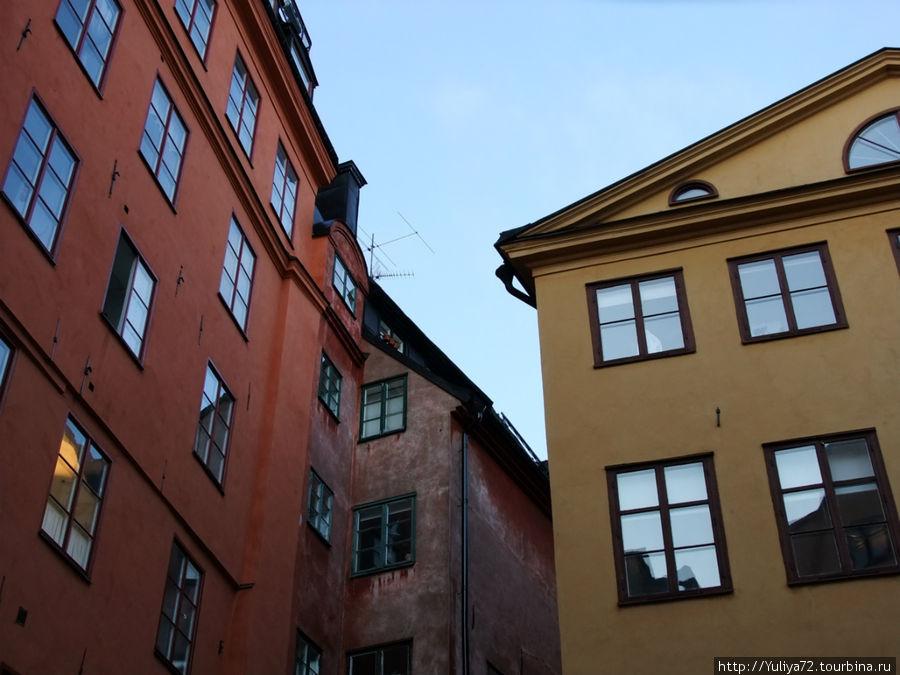 Крыша, где жил Карлсон. Стокгольм.