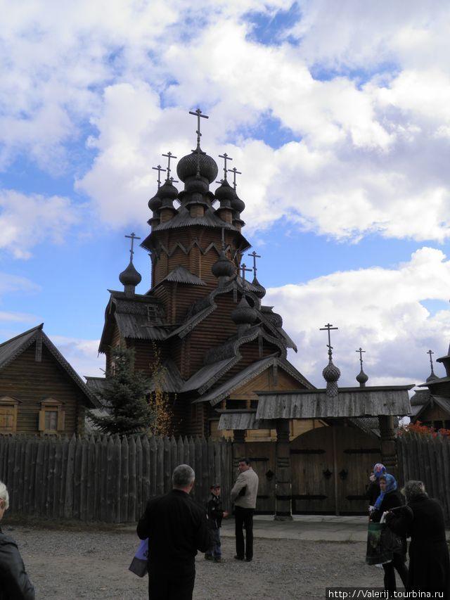 Церковь Скита Всех святых.