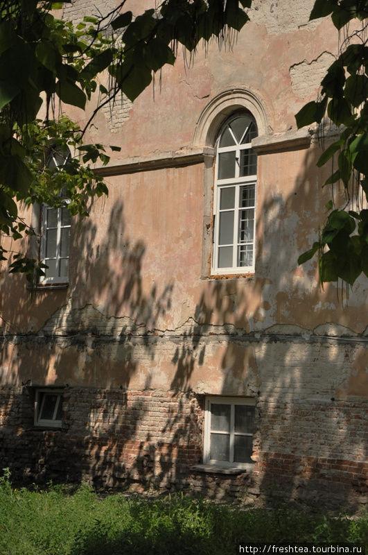 Окна в здании корпуса картографов еще пару лет  назад были