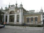 здание вокзала с вокзальной площади