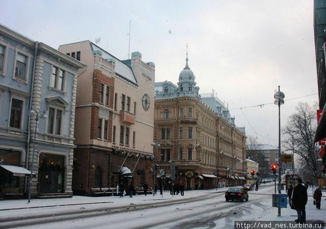 Улицы рождественского Турку