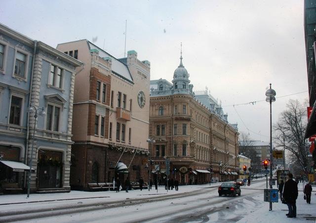 Улицы рождественского Тур