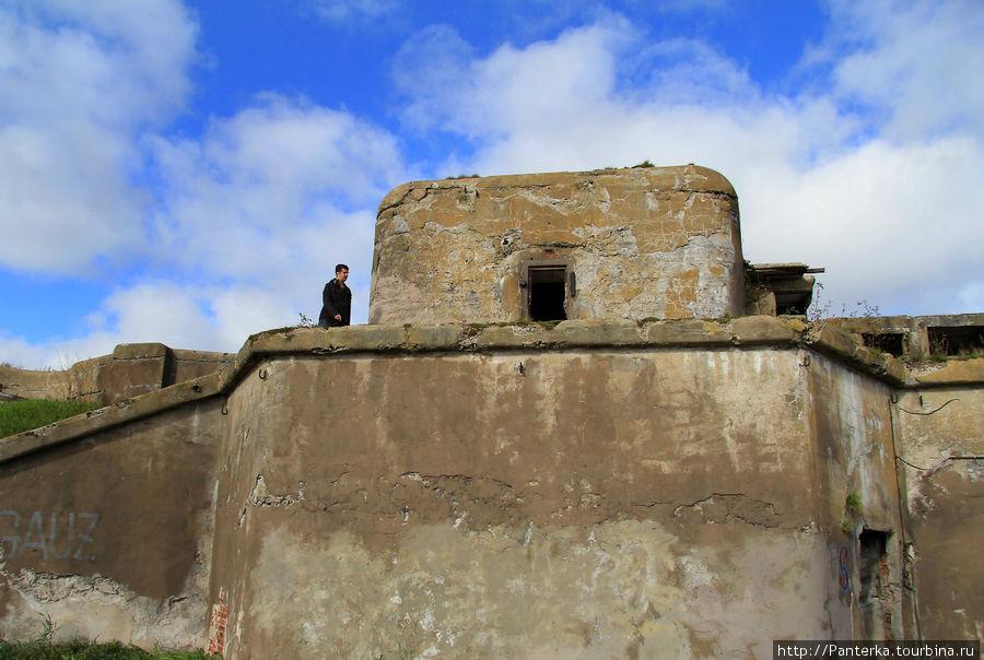 1-й Северный форт и неожиданно яркая осенняя красота... (Санкт ...