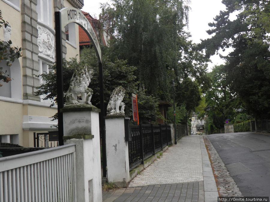 Улица Plattleite
