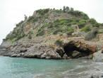 Вид на крепость из бухты