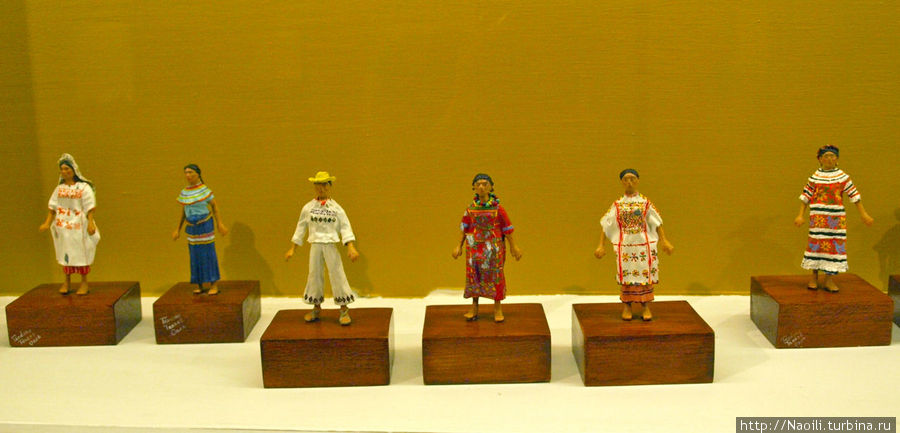 Оахака женский  и мужской костюм