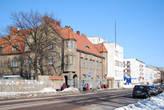 Бывшее здание Объединенного банка Северных стран, архитектор Уллберг. Сейчас Почта России