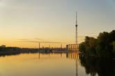 Вид с Ушаковского моста