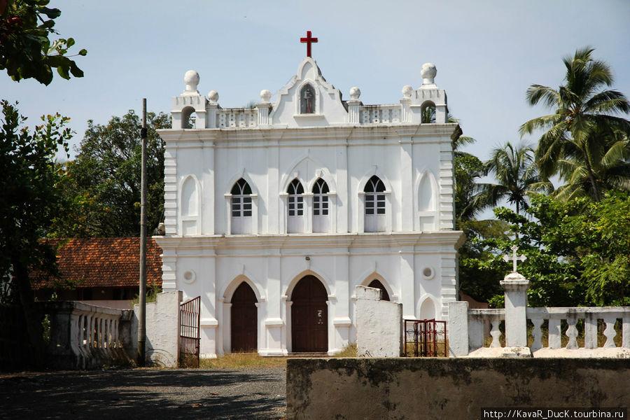 Признаки католицизма, привезённого португальцами