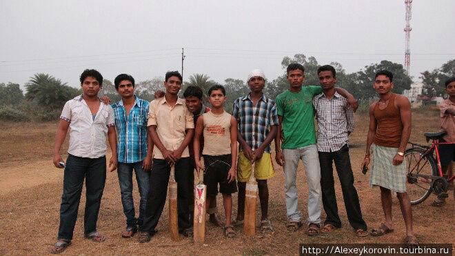 команда по крикету