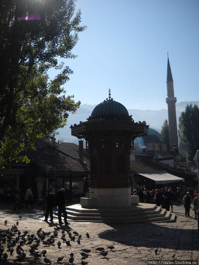 Олицетворение Сараево